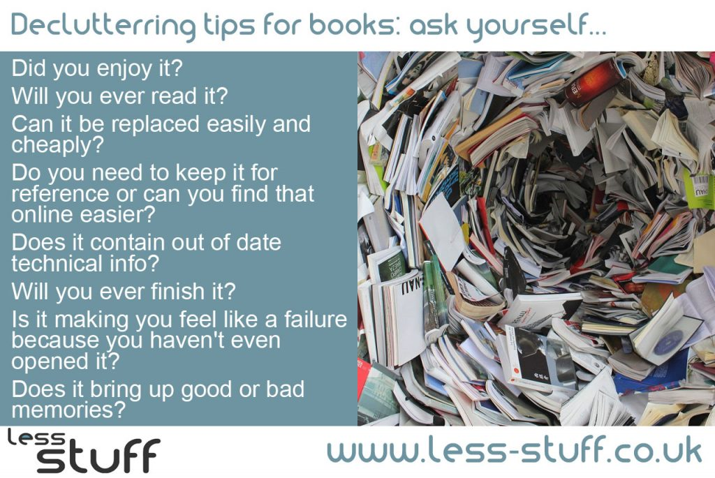 declutter-books-less-stuff