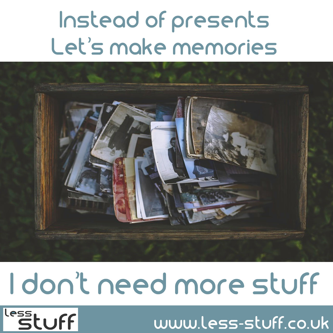 memories-not-presents