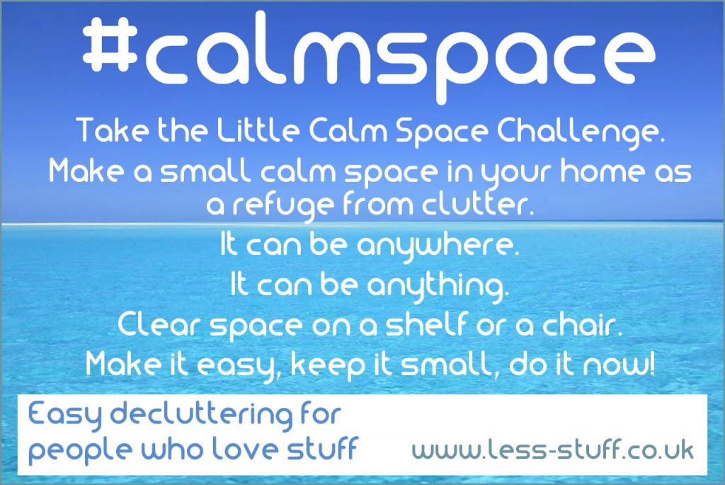 little calm space challenge