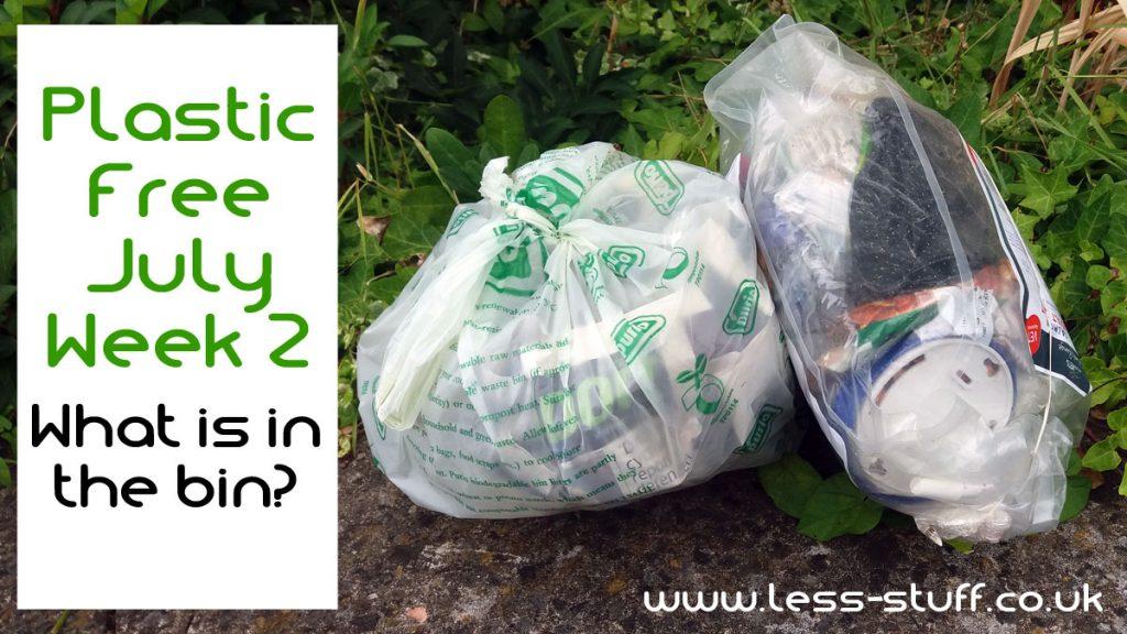plastic free july week 2