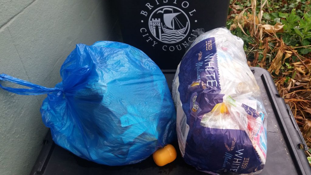 non recycllable waste week 3 plastic free july
