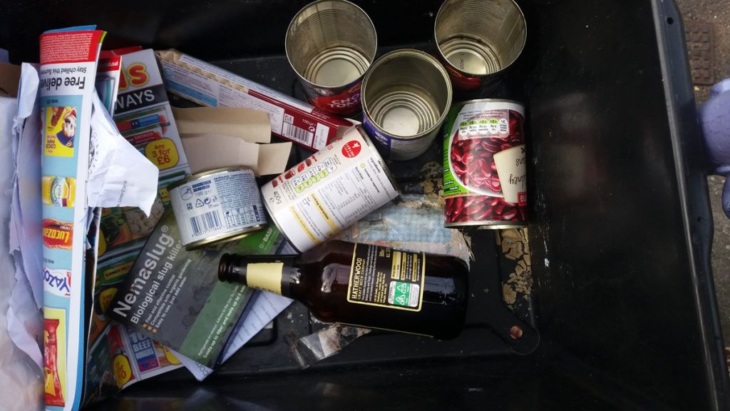 recycling box week 1