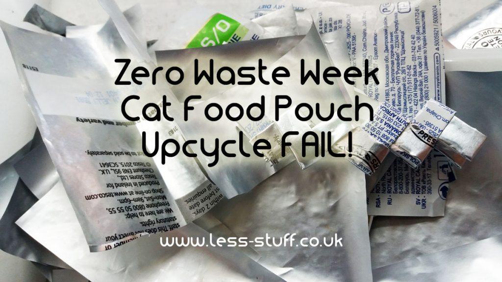 Cat food pouch fail