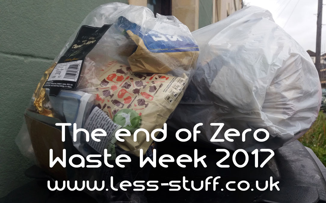 ero waste week 17 the end