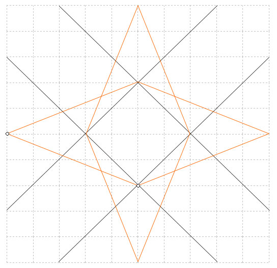 How to draw a repeating pattern with stars