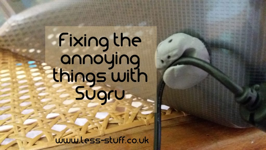 fix annoying things with Sugru
