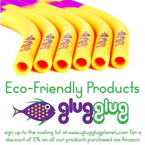 Glug Glug reusable straws